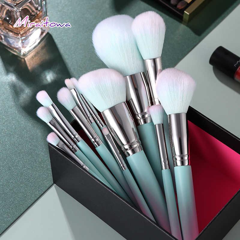Ensemble de pinceaux de maquillage pour fond de teint poudre Blush fard à paupières correcteur lèvres yeux maquillage brosse cosmétiques outils de beauté pinceau de maquillage
