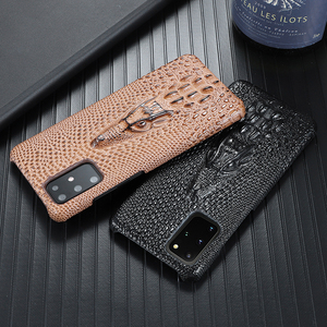 Image 3 - Super Anti fall Case For Samsung Galaxy S20 Ultra S 20 Plus S10 Plus Case Cowhide Leather Heavy Duty Protection Anti knock Cover