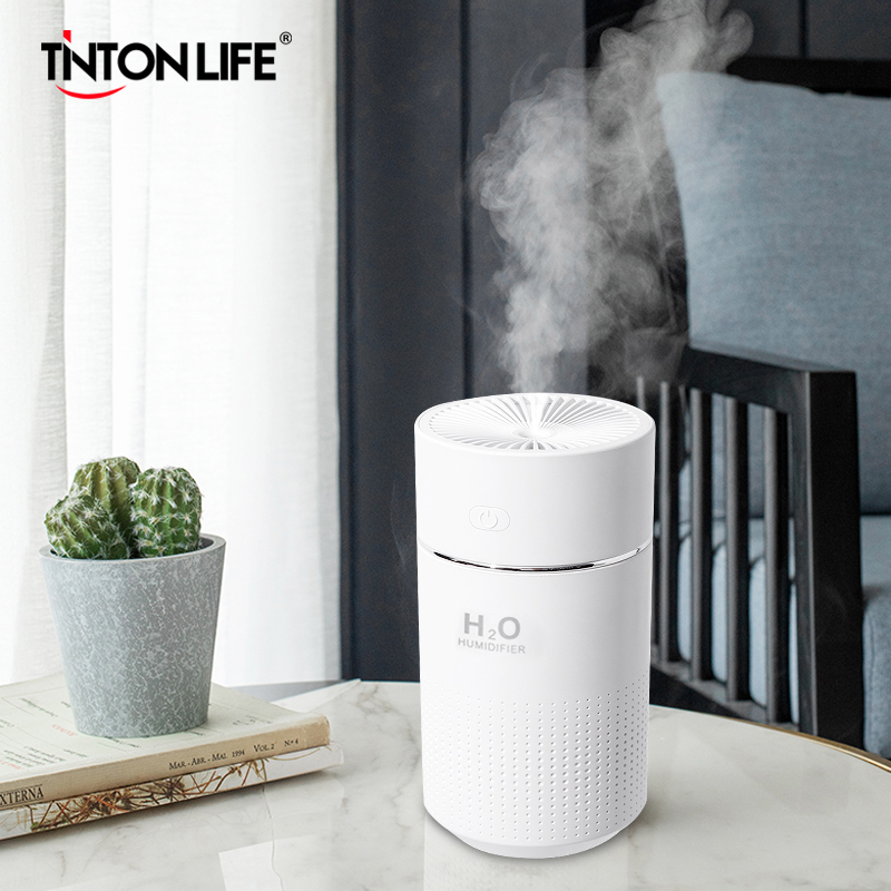 360ml Car Capacity Air Humidifier USB Rechargeable Wireless Ultrasonic Aroma Water Mist Diffuser Home Light Humidificador