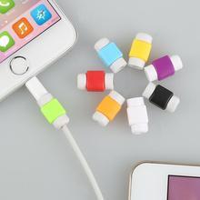 Osłona kabla danych osłona przewodu nawijacza osłona przewodu dla iphone #8217 a dla kabla USB Xiaomi kabel słuchawkowy ładowarka osłona ochraniacza tanie tanio centechia CN (pochodzenie) SILICONE support