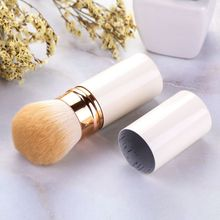 цена на Professional Retractable Foundation Brush  Blush Loose Powder Bush Multifunctional Make Up Brush Cosmetic Tools Makeup Brushes