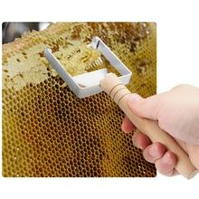 Медовый скраппер, медовый гребень, скребок для скрапбукинга, вилка для распечатывания медовых сот, скребки, вилка, пчеловодческий инструмент для пчеловодства, оборудование для фермы