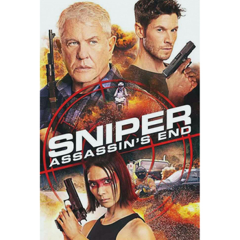 D0878 Sniper Assassin's End Movie Silk Fabric Poster Art Decor Indoor Painting Gift image