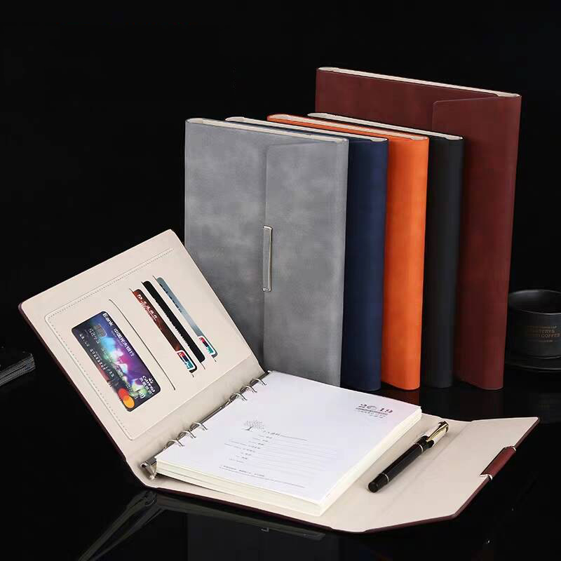 2020 Retro Creativity Gift PU Leather Bible Trave Journal Notepad Folder Notebook A5 Diary Weekly Agenda Planner Notebooks