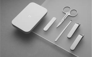 Image 2 - Xiaomi Mijia נירוסטה נייל קליפרס סט (2019 גרסה אופציונלי) גוזם פדיקור טיפול קליפרס Earpick פצירה