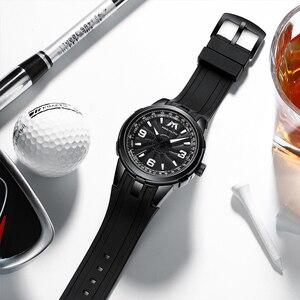 Image 3 - MEGALITH Men Military Watches Creative Turbine Rotation Dial Watch Sport Waterproof Quartz Watches Mens Clock Relogio Masculino