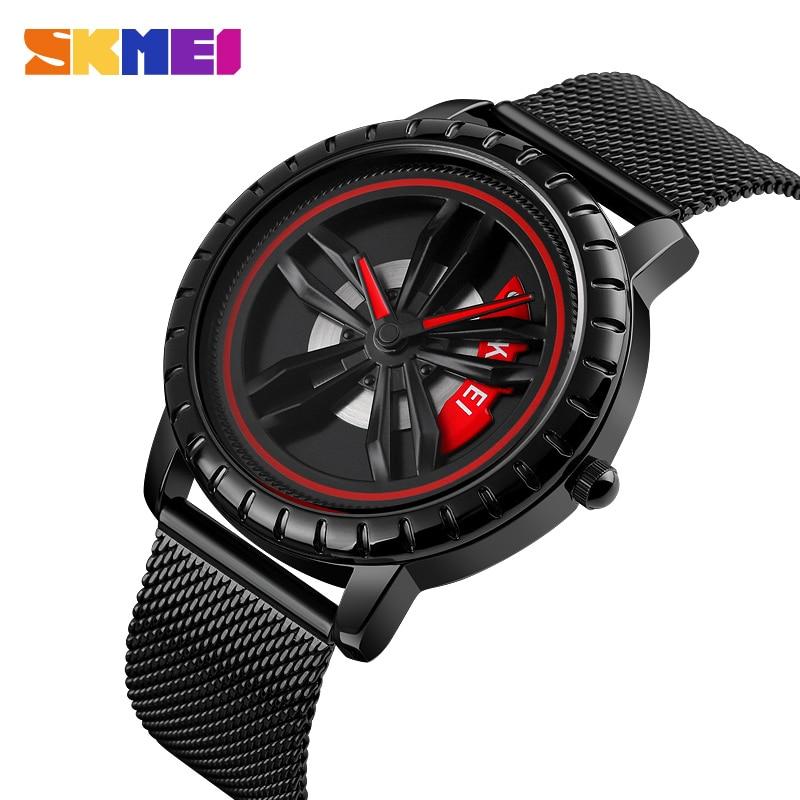 Fashion Brand SKMEI Men' S Watches Waterproof Quartz Watch For Man Reloj Hombre Business Stainless Steel Wristwatch Clock Mens
