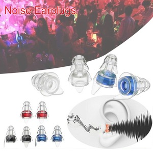 Image 5 - 2 Pairs Noise Reducation Earplugs With Case Hearing Protection Ear plugs For Sleeping Study Travel Concert Motor Sport Mini Plug