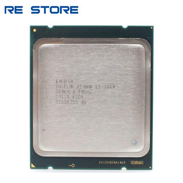 used Intel Xeon E5 1660 CPU server Processor 6 Core 3.3GHz 15M 130W SR0KN