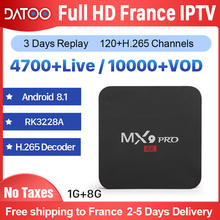 IPTV France Arabic Italy French Portugal Turkey DATOO MX9Pro Android 8.1 1G+8G Spain