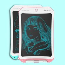 8.5 Inch Reusable LCD Handwriting Tablet Kids Doodle Drawing Board with Stylus E65A cube iwork11 handwriting dual system wi fi 64gb 10 6 inch win8 10 stylus tablet
