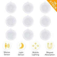 Светодиодный ночник с датчиком движения освесветильник для дома