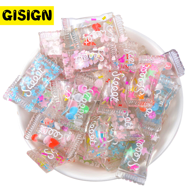 Sweet Candy Charms For Slime Supplies Diy Polymer Filler Addition Slime Accessories Toys Lizun Clay Sprinkles