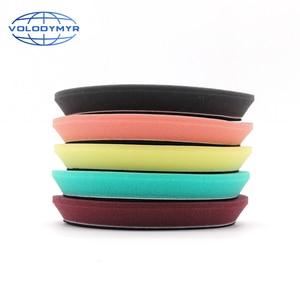 Image 4 - 6 Inch Polishing Pad Polish Pads Polishing Disc for 5inch Backing Plate Car Polisher Auto Accessorie Remove Dents Wax Sponge