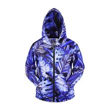 3D Men Hoodies Zip Up Splatter Color Leaf Print Hip Hop Streetwear Casual Jacket Women Outwear Hipster Hood