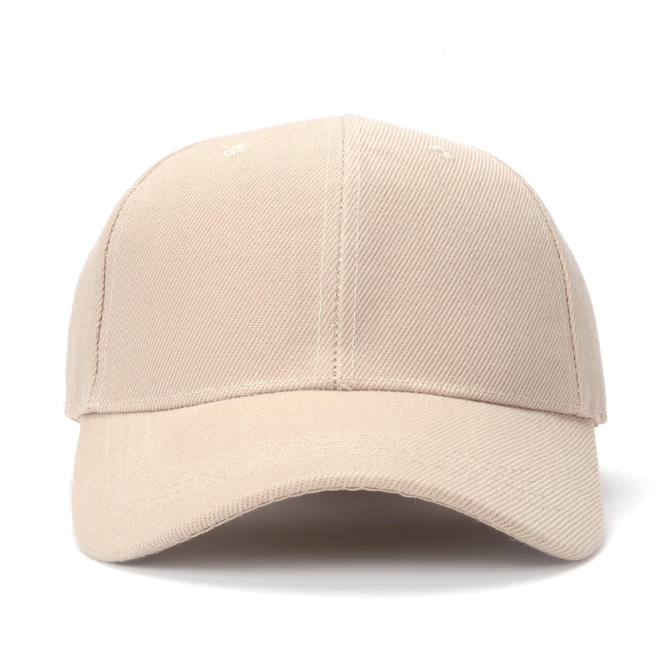 [SMOLDER]New Fashion Design Sports Fashion Plain Baseball Cap For Adult Men Women Dad Hat