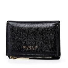 New Women's Pu Leather Wallet Fashion Short Multifunction Mu