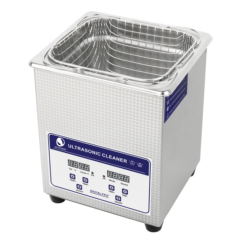 Skymen Ultrasonic Cleaner 60W 40kHz Bath Digital Ultrasound Sonic Cleaner Heating for Home Industry Lab Clinic Cleaning Machine