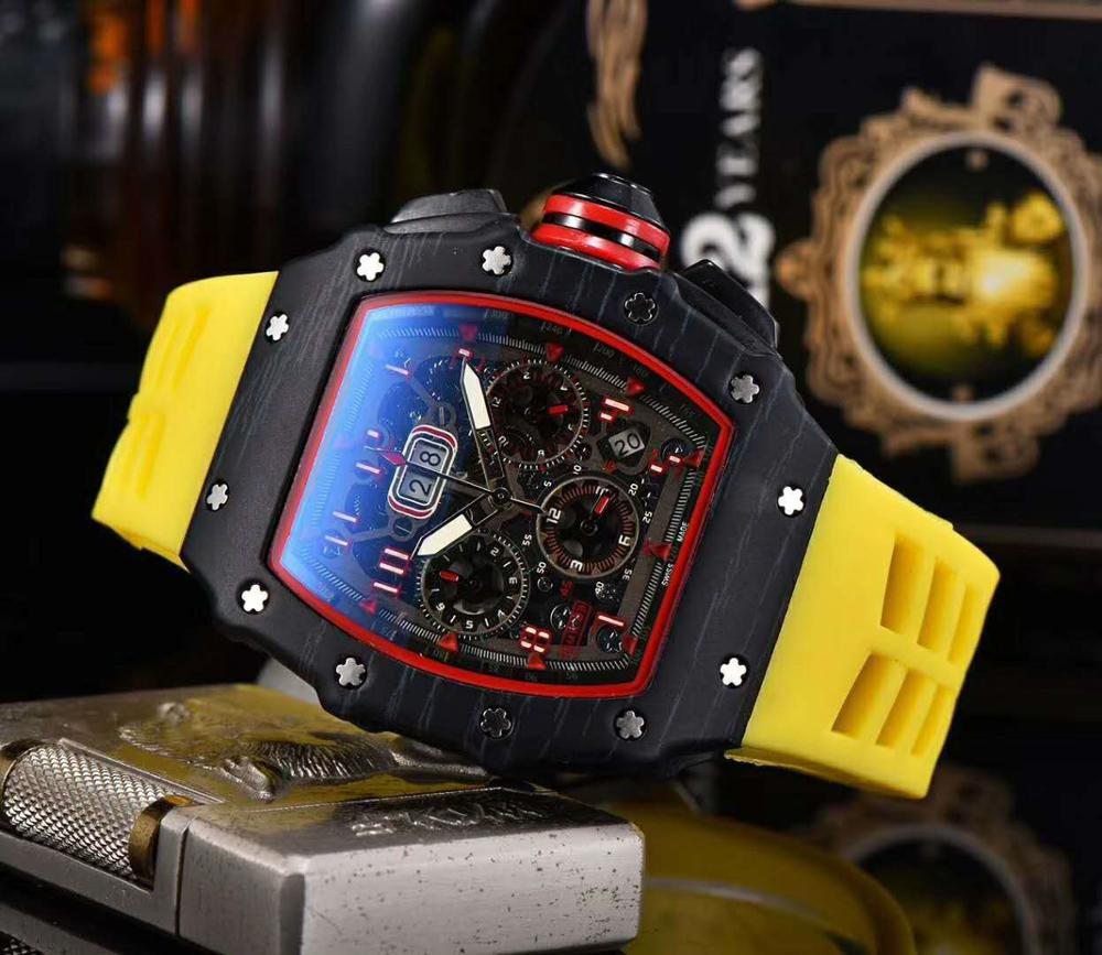 AAAwatchHot Brand Luxury Siliconce Dz Auto Date Week Display Luminous Diver Watches Stainless Steel Wrist Watch Male Clock