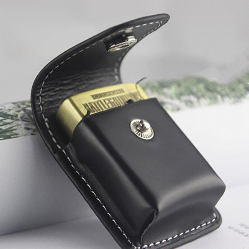 1 шт., ветрозащитная сумка на молнии для зажигалок, Подарочная сумка, маленькая коробка, чехол для супер подходящей высококачественной кожи, Мужская коробка Holde|Аксессуары для сигарет|   | АлиЭкспресс