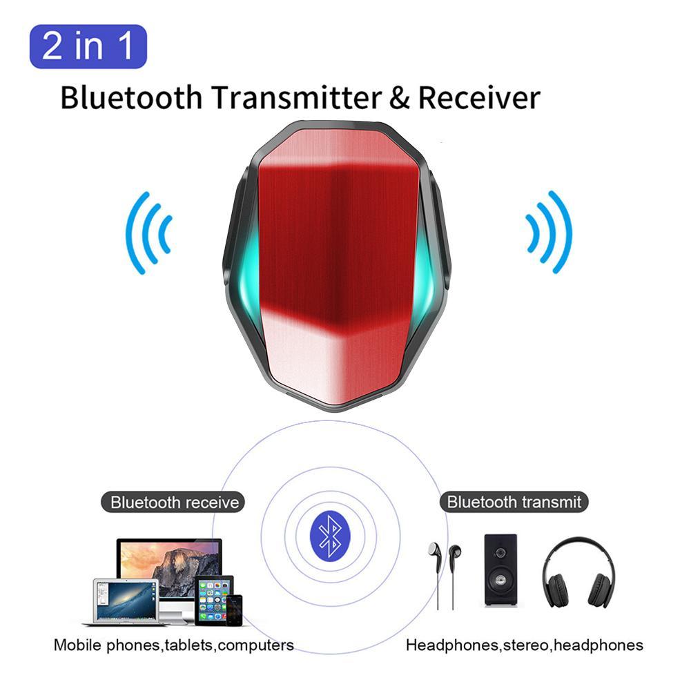 300 MAh Bluetooth 5,0 Sender Keine Verzögerung Drahtlose Audio Empfänger Für Smartphone MP3 Player CD-Player