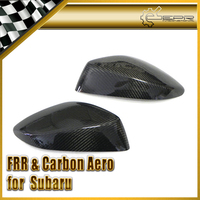 Car styling BRZ ZC6 For Toyota FT86 ZN6 Scion GT86 Carbon Fiber Side Mirror Cover RHD(Stick On Type)