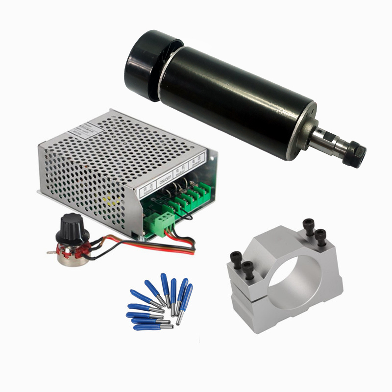Clamp DC Spindle Motor 500w 15W Laser Head 40W Laser Power Supply