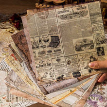 Revista de lixo retro papel adesivos manual estético adesivo fundo folha música pegatinas papelaria scrapbooking material