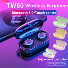 2019 Wireless Earphones Android Headphones Bluetooth 5.0 Sport Stereo Earbuds With Microphone Headset For Xiaomi Huawei Samsung стоимость