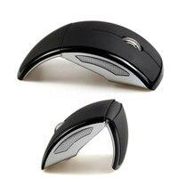 Mouse Wireless da 2.4GHz Mouse ottico USB Arc pieghevole ultrasottile pieghevole per Computer Mouse da gioco Gamer Mouse PC per Laptop