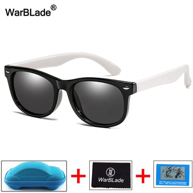 WBL New Fashion Kids Sunglasses Boys Girls Children Polarized Sun Glasses TR90 Silicone Safety Glasses Baby Eyewear UV400 Oculo