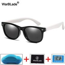 WBL nueva moda gafas de sol para niños niñas gafas de sol polarizadas TR90 gafas de seguridad de silicona gafas de bebé UV400 ojo
