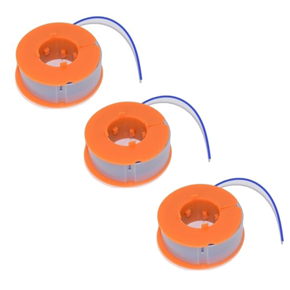 3pc Strimmer Trimmer Spool And Line For Bosch ART23 Easytrim ART26 Easytrim Replacement Head Thread String Saw Grass Brush Mower