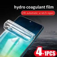 4-1Pcs pellicola salvaschermo morbida per telefono full cove per redmi note 8 8T pro pellicola protettiva in idrogel non in vetro
