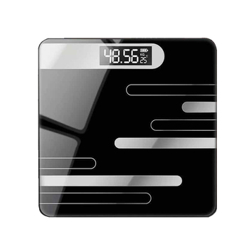 2020 Bathroom Floor Body Scale Glass Smart Electronic Scales USB Charging LCD Display Body Weighing Home Digital Weight Scale vogvigo 150kg bathroom body fat bmi scale digital human weight mi scales floor lcd display body index electronic scales