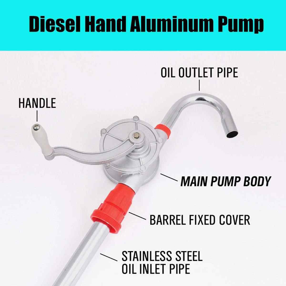 Business & Industrial 30L/per min Manual Hand Rotary Pump Fuel Oil ...