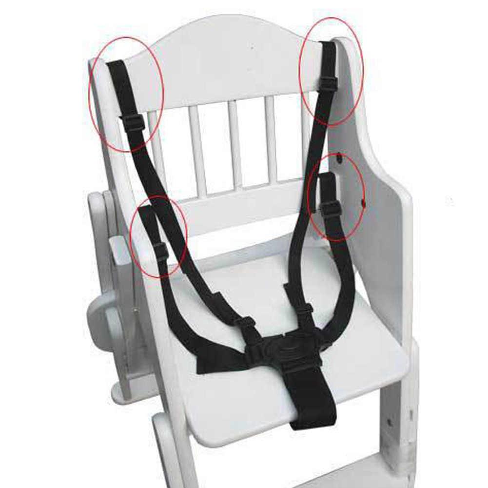 Sinto de segurança para bebê 5 pontas, coleira peitoral para carrinho de criança carrinho de bebê assento infantil