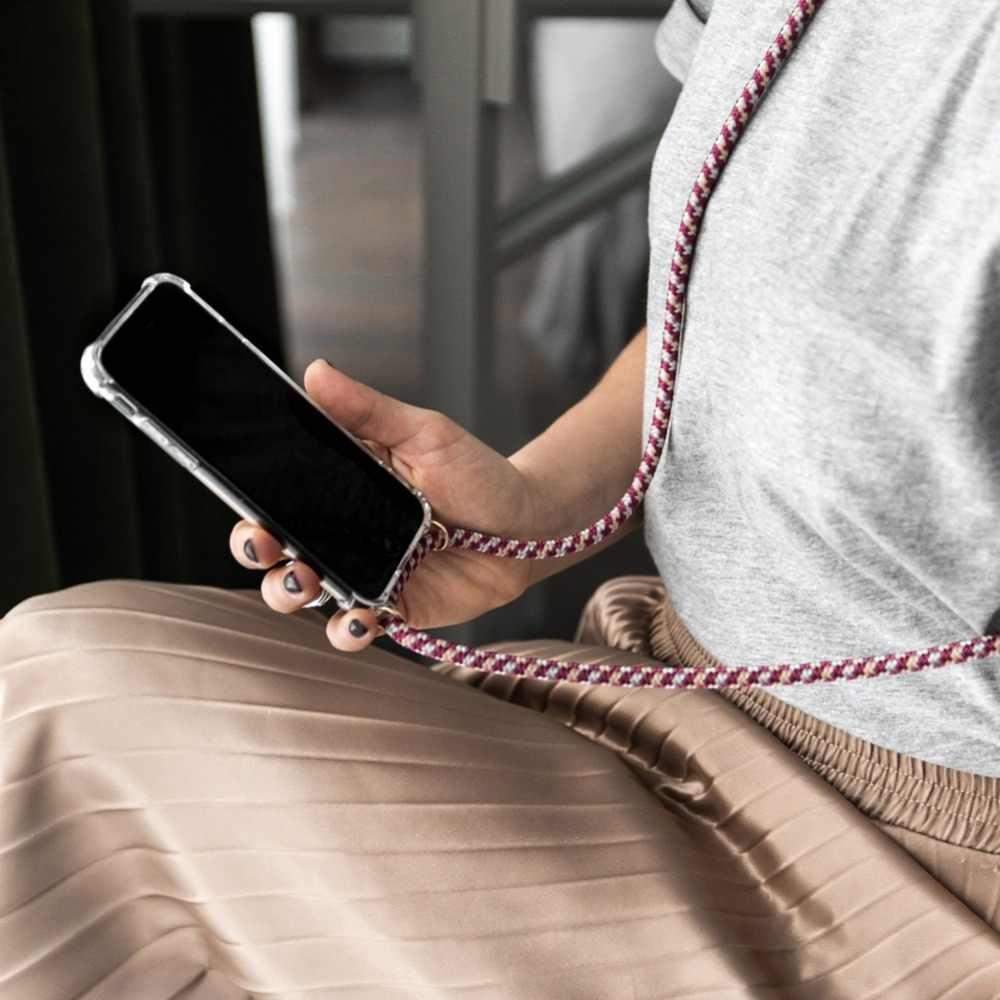 Противоударный чехол Olhveitra на ремешке для iPhone 11 Pro XR X XS MAX, чехол, ожерелье, противоударный чехол для iPhone 11, 7, 8, 6, 6S Plus, 5, 5S, SE