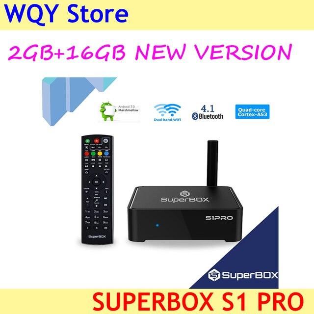 2020 yeni sürüm daha kararlı pürüzsüz temizleyici superbox s1pro 2G + 16GB 6k HD akıllı tv kutusu