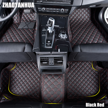 ZHAOYANHUA Car floor mats for BMW 3 series F30 F31 F34 GT Gran Turismo 318i 320i 328i 335i 340i 320d 326D 330d 6D carpet liners
