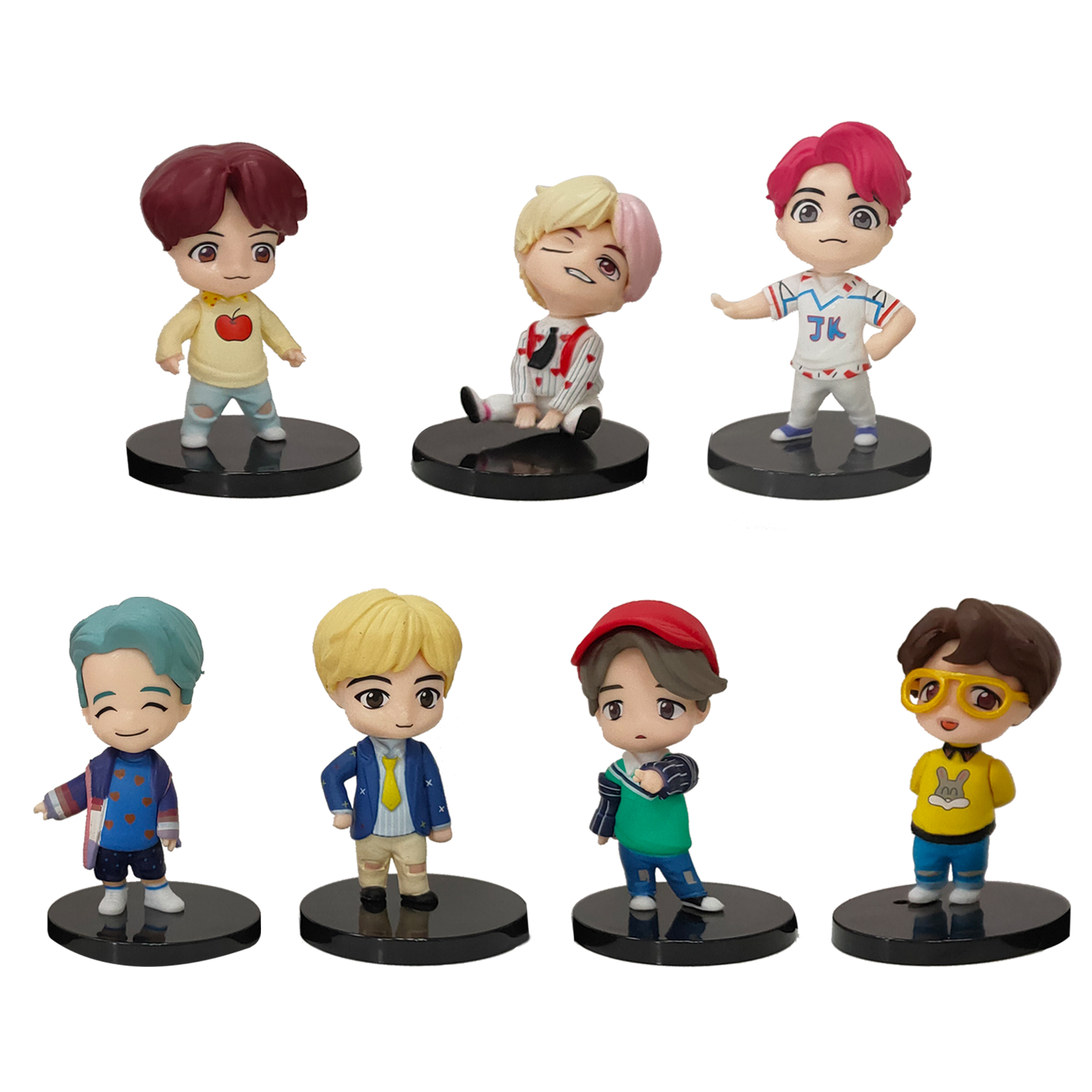 7PCS/set Bangtan Boy Groups…