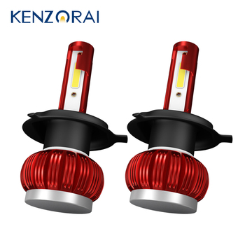 2020 New 2Pcs Car Headlight Bulbs Led H1 H4 HB2 9003 H7 H8 H9 H11 9005 HB3 H10 9006 HB4 Fog Light Auto Led lamp Bulb Accessories image