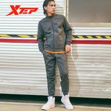 Xtep 2 шт/компл Мужская спортивная одежда зима весна сохраняющая