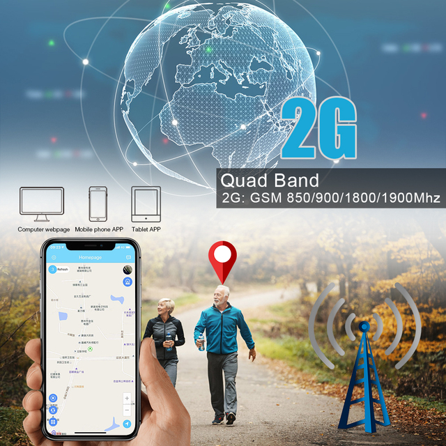 Mini GPS Tracker Children SOS Voice Monitor Geo-fence Pet Tracker 4