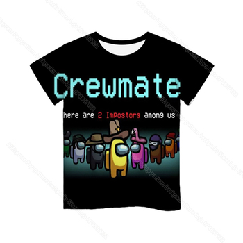 Cartoon Tee  Baby Kids Boys Girls Children Short Sleeves Summer Clothing Fashion 3d Print Toddler Camiseta 30