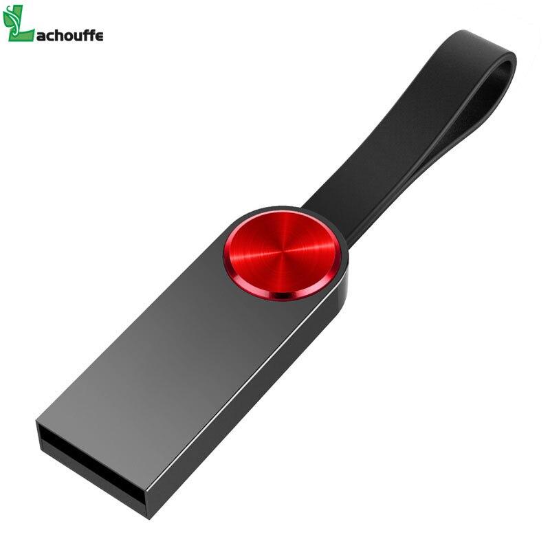 Hot Selling Usb Flash Drive 64GB 32GB 16GB Pen Drive Pendrive Waterproof Metal Silver U Disk Memoria Cel Usb Stick