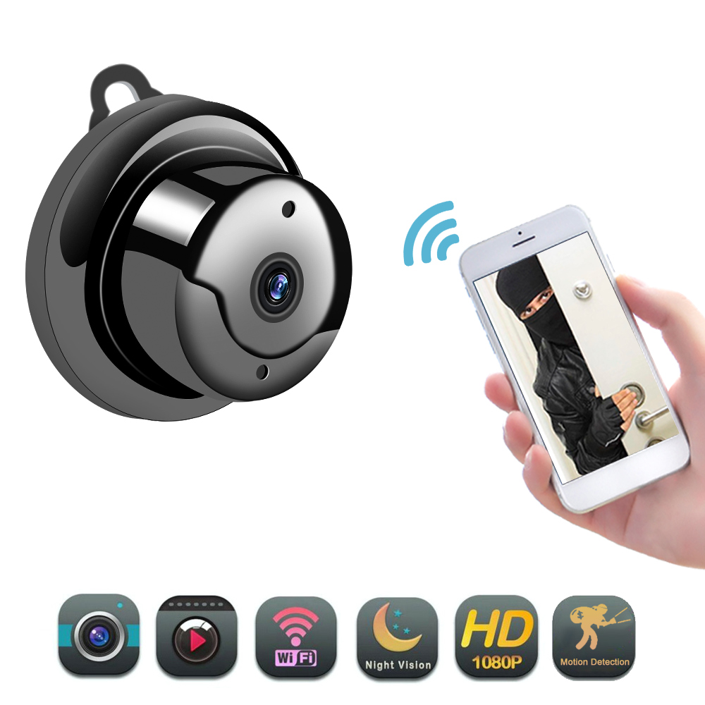 Wireless Mini IP Camera 720P 1080P HD IR Night Vision Micro Camera Home Security Surveillance WiFi Detect Baby Monitor
