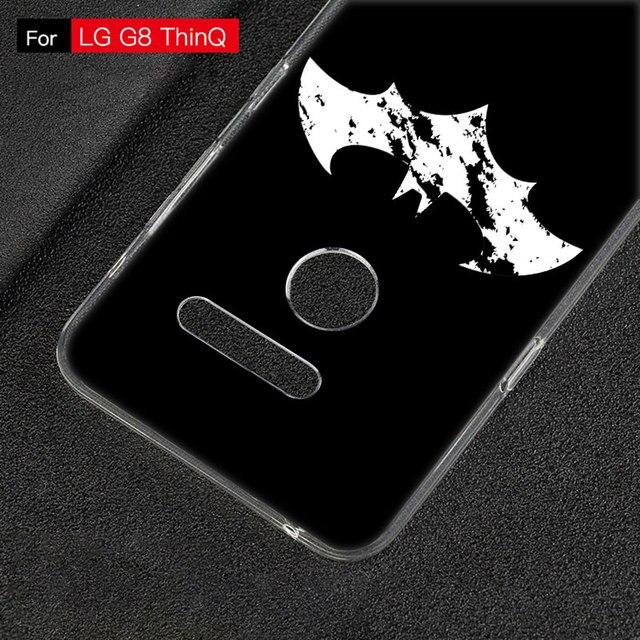 Chaude Batman LOGO Silicone Téléphone Étui Pour LG G5 G6 Mini G7 G8 G8S V20 V30 V40 V50 ThinQ Q6 Q7 Q8 Q60 K50 W30 Aristo 2 X Power 2 3