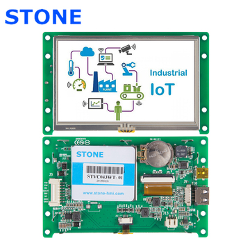 4.3 Inch HMI TFT LCD Display Module with RS232/RS485/TTL for Equipment Use 4 3 inch hmi tft lcd display with serial interface rs232 rs485 ttl for equipment use