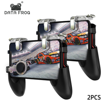 DATA FROG Game Controller for Pubg Mobile Controller Trigger Shooting Fire Button Phone Joystick For iPhone Android Mobile Phone